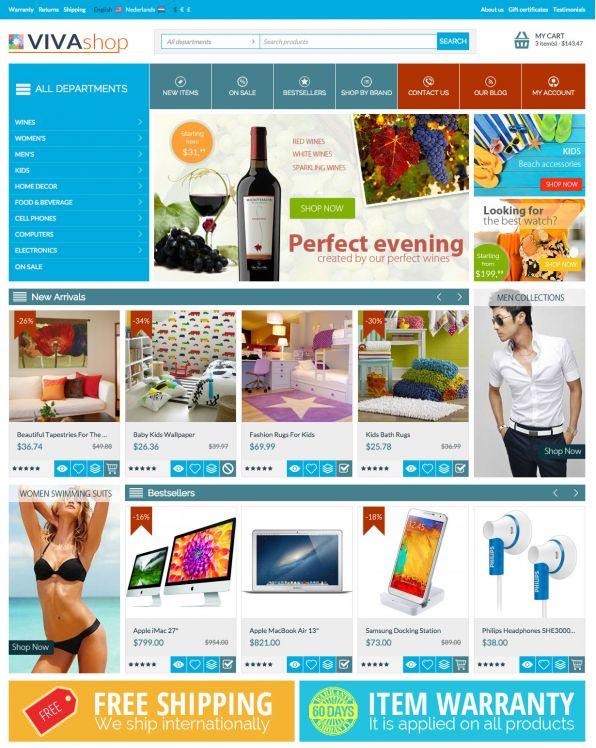 multi-vendor theme