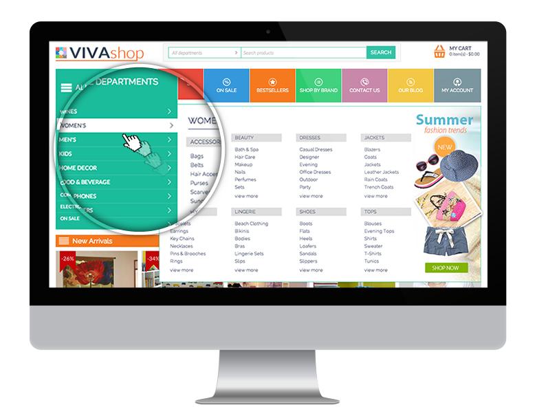 VIVAshop - Your Ultimate Responsive CS-Cart Theme